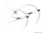 Golondrinas Lámina giclée por Benjamin Chee Chee