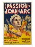 The Passion of Joan of Arc Premium Giclee-trykk av  Eloquent Press