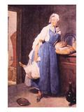 The Bread Posters af Jean-Baptiste Simeon Chardin