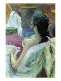 Resting Model Kunstdrucke von Henri de Toulouse-Lautrec