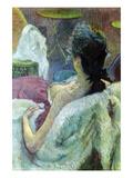 Resting Model Láminas por Henri de Toulouse-Lautrec