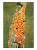 Abandoned Hope Pôsters por Gustav Klimt