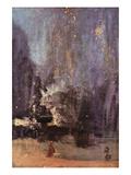 Nocturne in Black and Gold, the Falling Rocket Kunst von James Abbott McNeill Whistler