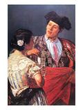 Toreador with Young Girl Affiche par Mary Cassatt