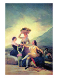 The Vintage Lámina por Francisco de Goya