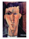 Portrait of Raymond Affiches par Amedeo Modigliani