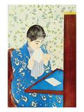 The Letter No.1 Posters par Mary Cassatt