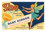 Baby Ginger Pósters por  J.J. Murdock Ltd