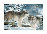 Wolf Watch Posters by Amneris Fernandez