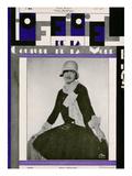 L'Officiel, August 1928 - Mme Rosenhauer Juliste tekijänä  Madame D'Ora