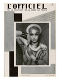 L'Officiel, May 1927 - Mme Agnès Posters tekijänä  Madame D'Ora