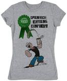 Women's: Popeye - Spinach Contest T-Shirt