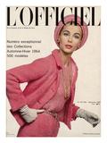 L'Officiel, September 1963 - Tailleur de Guy Laroche Julisteet tekijänä Philippe Pottier