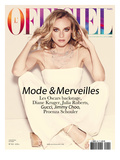 L'Officiel, February 2008 - Diane Kruger Prints by Guy Aroch