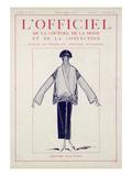 L'Officiel, January-February 1923 - Création Jean Patou Kunst van Jean Patou