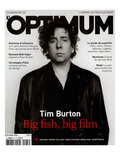 L'Optimum, March 2004 - Tim Burton Affiche par Jan Welters