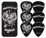 Motorhead - England Logo Guitar Picks Palhetas para guitarra e violão