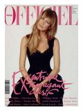 L'Officiel, December 1993 - Claudia Schiffer Prints by Francesco Scavullo