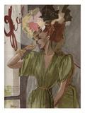 L'Officiel, April 1944 高画質プリント :  Lbenigni