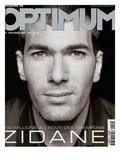 L'Optimum, September 2001 - Zinedine Zidane Affiche par François Darmigny