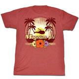 Magnum Pi - Flowers Shirts