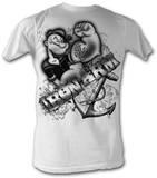 Popeye - Iron Man T-skjorter