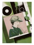 L'Officiel, December 1934 - Marthe Valmont Posters af S. Chompré & A.P. Covillot