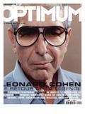 L'Optimum, October 2001 - Leonard Cohen Poster von Michel Figuet