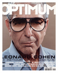 L'Optimum, October 2001 - Leonard Cohen Poster van Michel Figuet