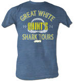 Jaws - Shark Tour Camisetas