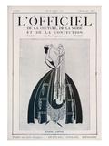 L'Officiel, February 15 1922 - Jeanne Lanvin (Illustration) Kunstdrucke von  Delphi