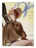 L'Officiel, July 1936 - A La Reigne d'Angleterre 高品質プリント :  Lbenigni