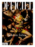 L'Officiel, 2003 - Raquel Zimmermann Porte une Robe en Mousseline de Soie, Christian Dior Prints by Solve Sundsbo