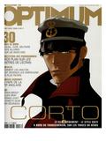 L'Optimum, October 2002 - Image Extraite de Corto Maltese, La Cour Secrète Des Arcanes Posters av Pascal Morelli