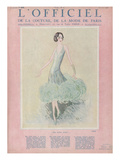L'Officiel, July 1926 - Miss Dora Duby Schilderijen van  Worth