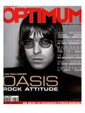 L'Optimum, March 2000 - Liam Gallagher Print van Nicolas Hidiroglou