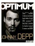 L'Optimum, September 1999 - Johhny Depp Kunst av Patrick Swirc
