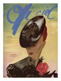 L'Officiel, August 1938 - Le Monnier Poster af  Lbenigni
