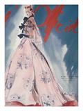 L'Officiel, July 1939 - Balenciaga Kunstdrucke von  Lbenigni