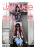 Jalouse, February 2010 - Charlotte Kemp Art by Mason Poole
