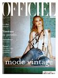 L'Officiel, 2004 - Vanessa Paradis Poster van John Nollet