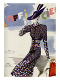 L'Officiel, May 1938 - Premet アート :  Lbenigni