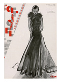 L'Officiel, June 1932 - Création Chanel ポスター :  Drian