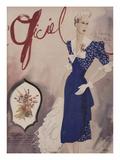 L'Officiel, July 1942 - Nina Ricci, Van Cleef et Arpels 高画質プリント :  Lbenigni
