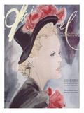 L'Officiel, August-September 1941 - Nouveaux Chapeaux d'Automne, Nouveaux Tissus d'Hiver ポスター :  Lbenigni