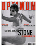 L'Optimum, December 1998-January 1999 - Sharon Stone Posters van Herb Ritts Visages