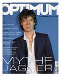 L'Optimum, November 2001 - Mick Jagger Art by Albert Sanchez