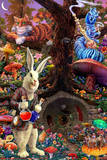 Down the Rabbit Hole - Alice in Wonderland Posters