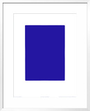 Untitled, Blue Monochrome, c.1961 (IKB73) Posters by Yves Klein