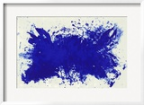 Hommage a Tennessee Williams Print by Yves Klein